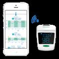 Уред за измерване нивото на кислород в кръвта и сърдечния пулс Medisana Pulse oximeter PM 150 connect, Германия
