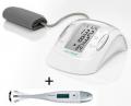 Апарат за измерване на кръвно налягане Medisana MTP, Германия + термометър Medisana FTF, Германия BUNDLE